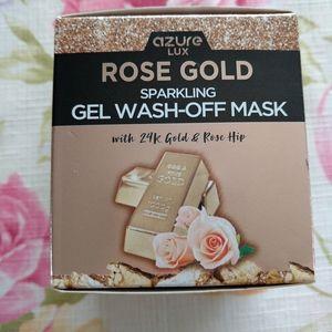 Azure Lux Rose Gold Gel Wash Off Mask